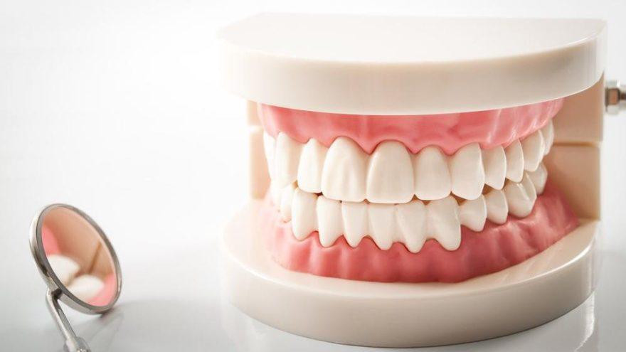 protez diş fotoğrafı
